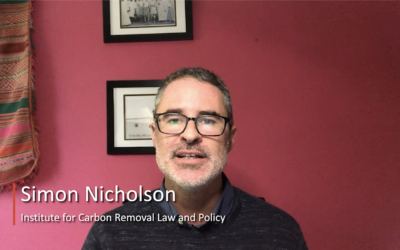 C2GLearn Webinar: Governance of Direct Air Carbon Dioxide Capture and Storage – Simon Nicholson